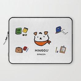 Hinggu_Note_Korea Jindo Dog illustration Laptop Sleeve