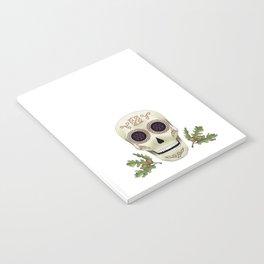 Knotwork Skull Notebook
