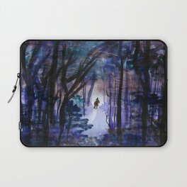 Rider in the Night Laptop Sleeve