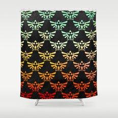 Zelda Hylian Crest Shower Curtain