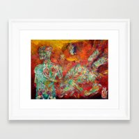 biology Framed Art Prints featuring Synthetic Biology by Lennon Michalski