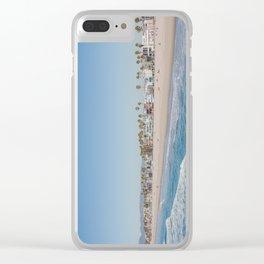 California Dreamin - Venice Beach Clear iPhone Case