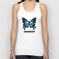 friendship Tank Tops featuring Friendship by Jinventure