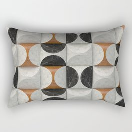 Marble game Rectangular Pillow