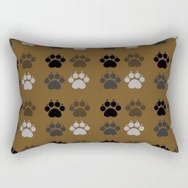 Dog - Paws Rectangular Pillow