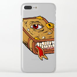 monster book. Clear iPhone Case