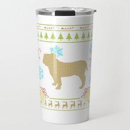 Ugly Christmas Shirts Bulldog Shirt French Bulldog Travel Mug