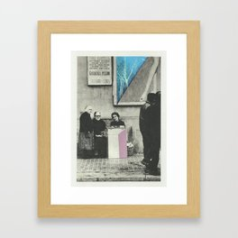 Far From The Madding Crowd I Framed Art Print