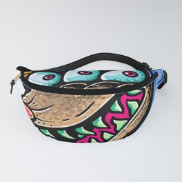Evil Wolf Fanny Pack