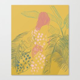 Sun Bather Canvas Print