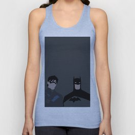 Young Justice Minimalism 1 Unisex Tank Top