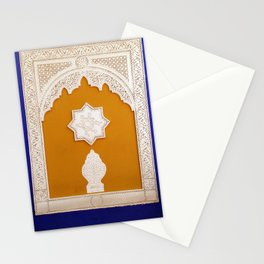 Majorelle Garden wall Stationery Cards