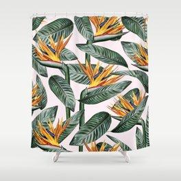 Bird Of Paradise Pattern #society6 #decor #buyart Shower Curtain