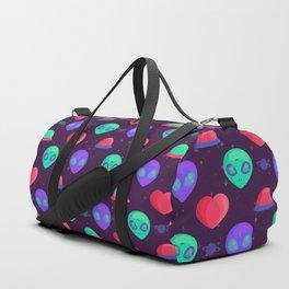 Kawaii Aliens Duffle Bag