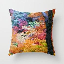 Magical Autumn Throw Pillow