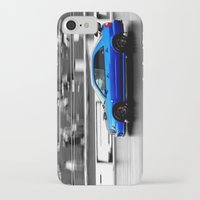 subaru iPhone & iPod Cases featuring Subaru Racer by VHS Photography