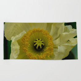 Yellow Cosmo Beach Towel