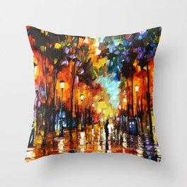 Tardis Art Stay Looking Throw Pillow