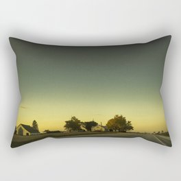 By The Riverside #3 Rectangular Pillow