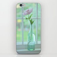 peony iPhone & iPod Skins featuring Peony by Pearls and Prose / Carole