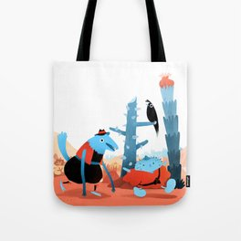 Pitoto and Castaño go partying Tote Bag