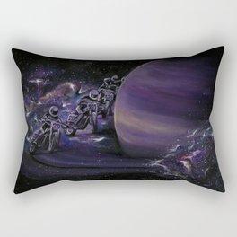 Galaxy Racers Rectangular Pillow