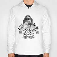 big lebowski Hoodies featuring The Big Lebowski by KevinART