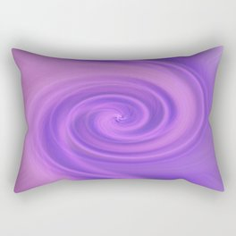 Purple daze 5 Rectangular Pillow