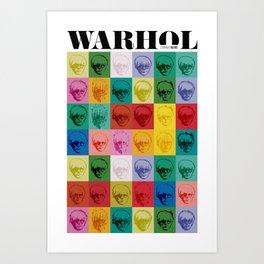 Andy Wharol Art Print
