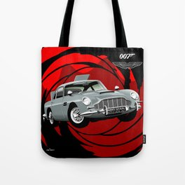 Aston Martin DB5 from Goldfinger Tote Bag