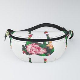 Horse with rose Fanny Pack