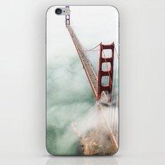golden gate bridge in san francisco iPhone & iPod Skin