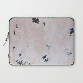 Pink Marble Laptop Sleeve