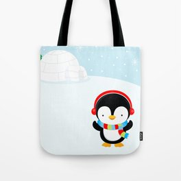Cute penguin boy #2 Tote Bag