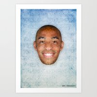 Thierry Henry Art Print