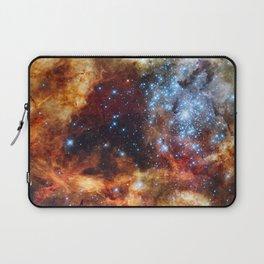 Grand star-forming region R136 in Tarantula Nebula  (NASA/ESA/Hubble) Laptop Sleeve