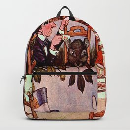"""Why is a Raven Like a Writing Desk?"" Milo Winter Backpack"