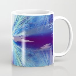 Flashing Blue Star Coffee Mug