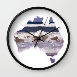 Australia beach Wall Clock