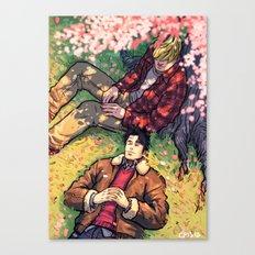 William and Theodore 20 Canvas Print