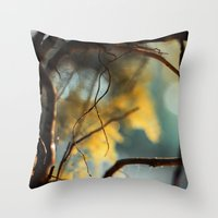 zen Throw Pillows featuring Zen by João Pedro de Almeida