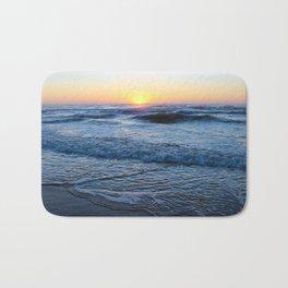 Carolina Beach Sunrise Bath Mat
