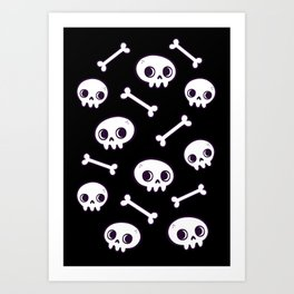 Cute Skulls Kunstdrucke