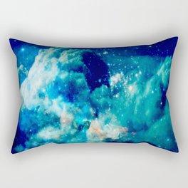 A Deep Cerulean Dream Rectangular Pillow