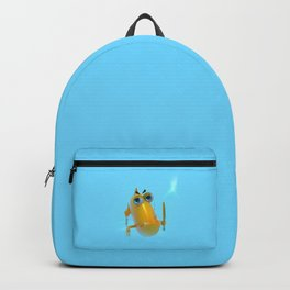 Hungry! The Dangerous Fish! NoLettering Backpack