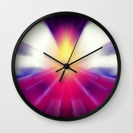 Flying into the Light Wall Clock