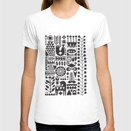 Forest print T-shirt