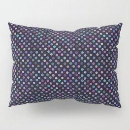 Retro Colored Dots Material Pillow Sham