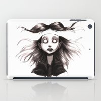 anxiety iPad Cases featuring Anxiety by Lauren Addy