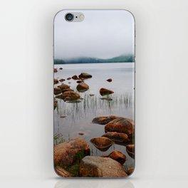 Acadia Fog - Acadia National Park iPhone Skin